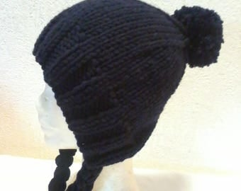 fancy way over-sized charlotte Hat Navy