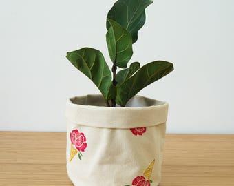 Medium planter flower cones X Joannie swell