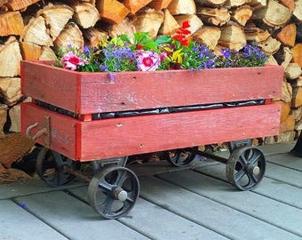 Railway Cart Planter