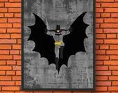 Minimalism Art - Batman P...