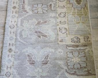 Antique vintage rug shabby chic