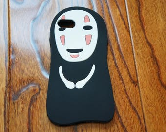 Spirited Away No-Face Soft Silicone iPhone Case Cover