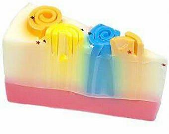 Vegan friendly tutti fruity soap
