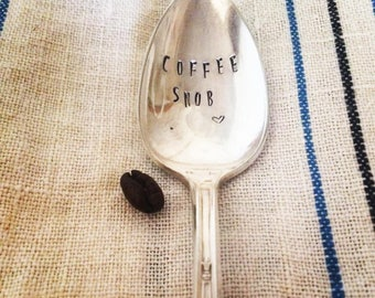 Vintage Stamped Spoon