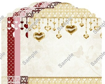 Digital Love Inserts Scrapbook Insert Photomat