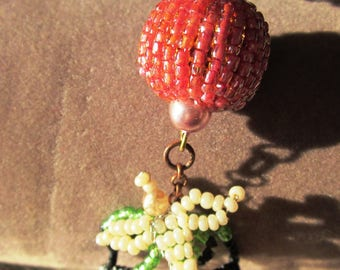 Bracelet Bohemian beads and bird