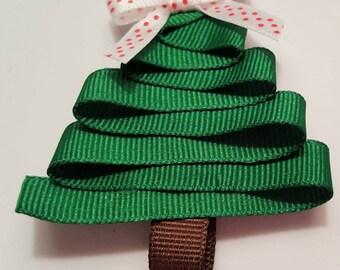 Ribbon Christmas Tree Bow
