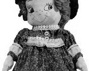 "Copy of an Adorable Little 12"" Doll pattern"