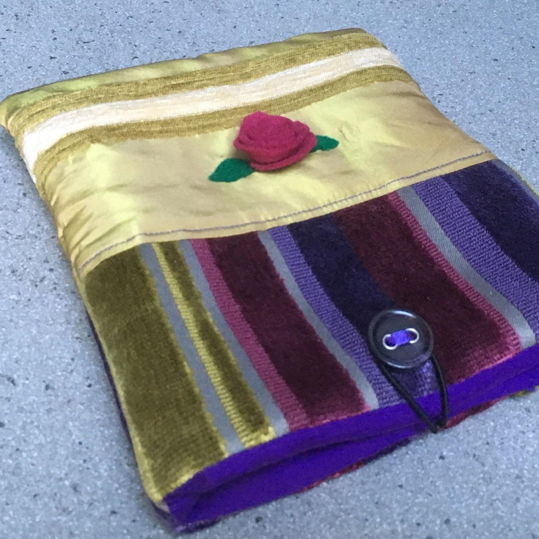 padded kindle cosy book holder fabric nook case kobo aura