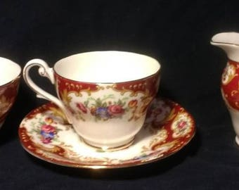 Lady Fayre Royal Standard China Tea Set