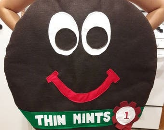 Girl Scout Thin Mint Cookie Costume