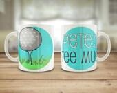 Golf mug, Personalised go...