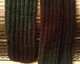Gradient Scarf in Forest Green
