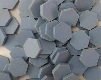 Hexagon Tiles Etsy - 1 inch hexagon ceramic tile