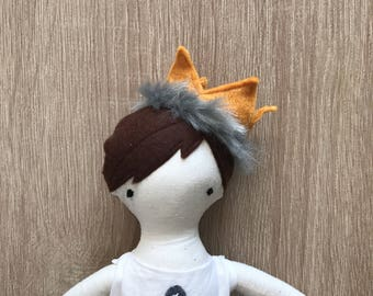 Where the wild things are party supplies-wild one birthday-max doll