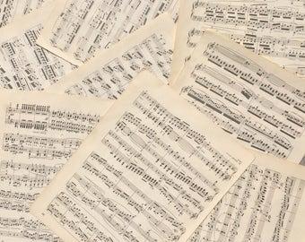 Vintage Sheet Music, sheet music, music sheets, old sheet music, vintage music, lot of sheet music, crafting sheet music, sheet music lot
