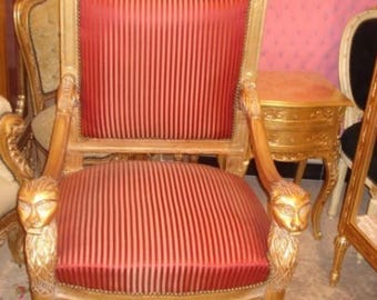 Baroque Chair Armlehner antique style AlSe0300