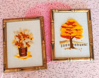 Set of 2 vintage frames