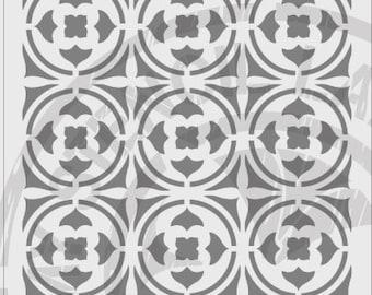 Tile Stencil #684