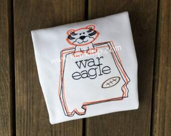 Auburn Tigers Stitch Shirt