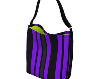 Ultra Violet Bag - Bookbag - Everyday Womens Bag - Waist Bag - Messenger Bag Women - Cross Body Bag - Bum Bag - Tote Bag for Women