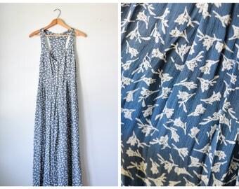 90s floral jumpsuit | Fits many