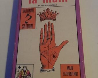 Tarot Jeu de main vintage Grimaud