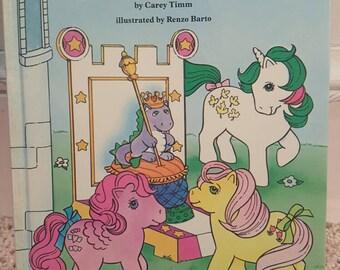My Little Pony book- vintage - 1980s