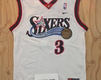 Nba jersey set champion allen iverson Philadelphia 76ers sixers sz L