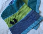 Crochet colour block baby blanket ***RESERVED for Megan Lawson Jakob