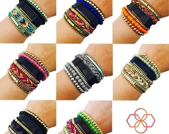 SALE Fitbit Bracelet to Accessorize the Fitbit Alta/Alta HR Fitness Tracker - The ROSIE Beaded Layered Bracelet to Dress Up Your Activity Tr
