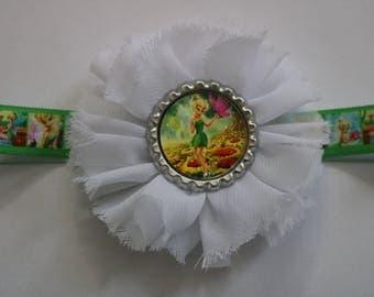 Tinkerbell Headband, Baby TInkerbell Headband, Infant Tinkerbell Headband, Toddler Tinkerbell Headband, Fairy Headband, Baby Fairy Headband