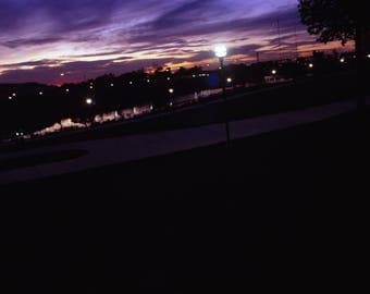 Olentangy Riverfront @twilight