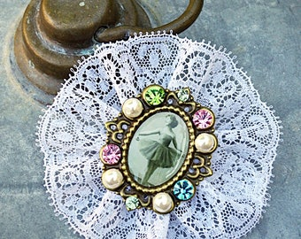 "Brooch ""dream ballerina"""