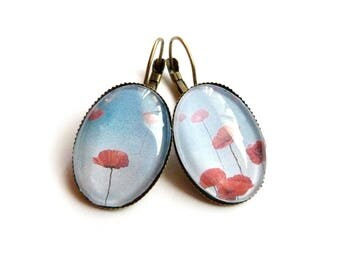 Poppy earrings summer is here sleeper retro