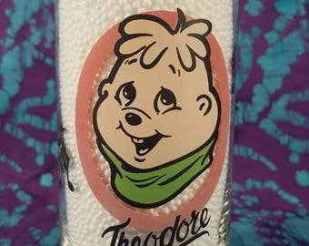80's ~ Theodore ~ Tumbler ~ Water Glass ~ Alvin and the Chipmunks ~ Libby ~ Cartoon Glass ~ Hardee's Promotional ~ My Nostalgic Life