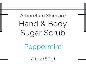 Hand & Body Sugar Scrub - 2.1oz