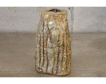 Large Studio Pottery Vase by Veta Carr (L95Z6A)