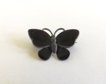 Vintage Volmer Bahner Butterfly Brooch - Sterling Silver