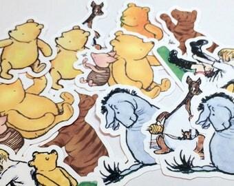 Large Die Cuts - Winnie the Pooh,INSTANT DOWNLOAD, Pooh Cut Outs, Winnie the Pooh Birthday Party,Winnie the Pooh,Winnie the Pooh Baby Shower
