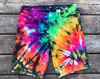 Tie dye Rainbow Shorts :)