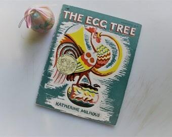 The Egg Tree, Katherine Milhous, 1st Aladdin Edition, 1981, Paperback, 1951 Caldecott Award,