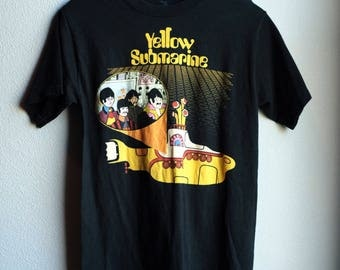 Vintage Beatles shirt Yellow Submarine