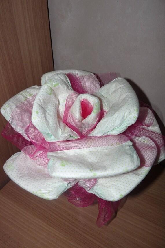 rose de couches petit pot de fleur.