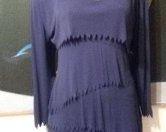 Holly Harp Flaming Edges Dress