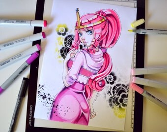 Princess Bubblegum - Adventure Time (Original)