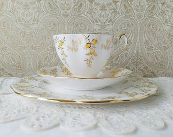 Queen Anne Tea Trio, Teacup Set