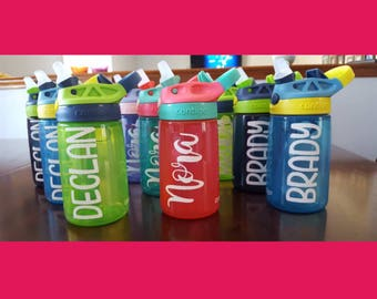 Water Bottle Decals for Contigo Type Bottles