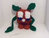 Knitted Monster, Scary Monster, Toy Monster, CE tested toy, Funny monster, Funny knitted monster, Childs toy, Soft toy , Stuffed Toy, Monster