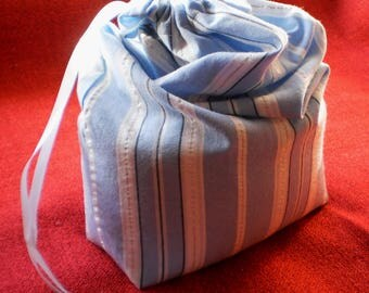 Reusable Bulk Produce Bags.  Produce Bags.  Recycled cotton produce bags.  Market bags.  drawstring bags